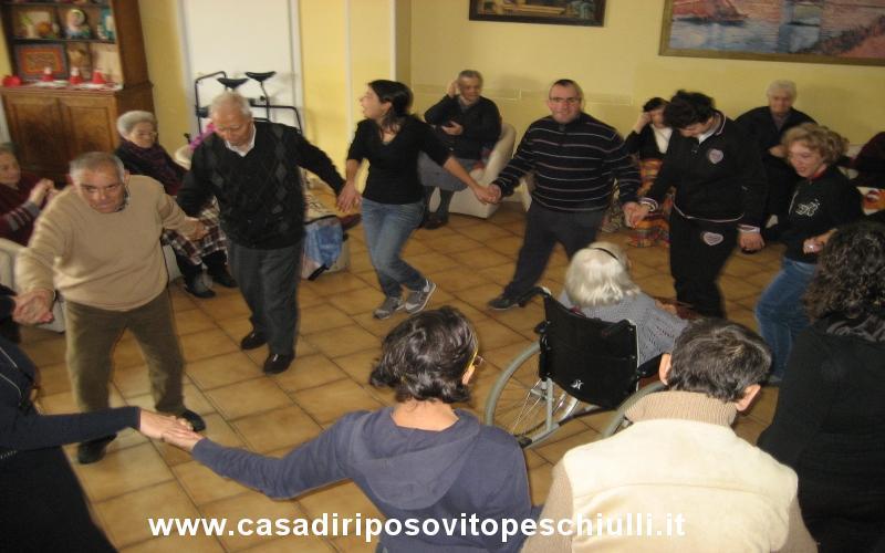 Casa di riposo in Lecce e provincia Salento Puglia feste di gruppo per anziani