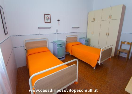 Casa di Riposo per anziani accoglenza servizi e camere da letto