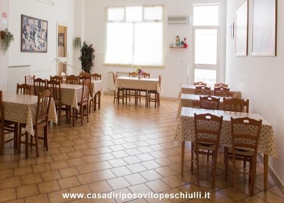 Casa di Riposo per anziani accoglienza pasti e pranzo