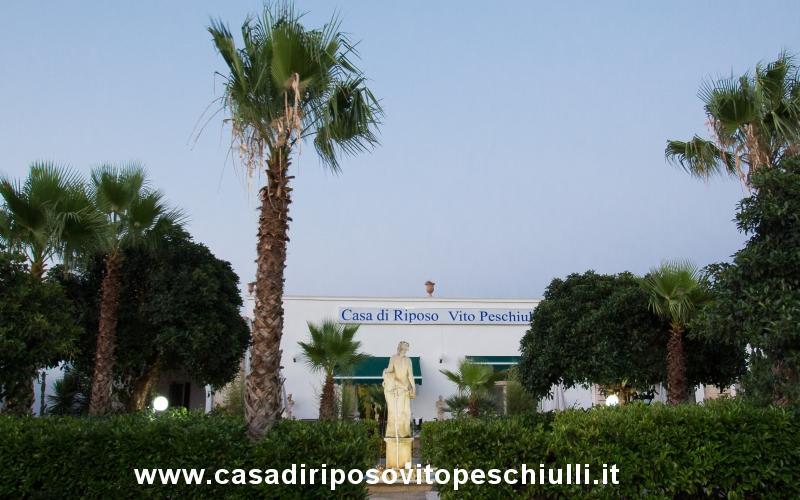 Casa di riposo Racale provincia di Lecce Salento Puglia