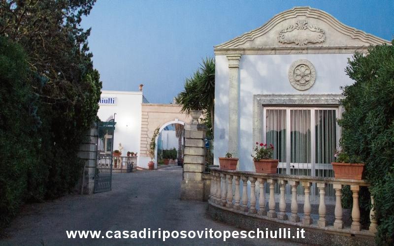 Casa di riposo Taviano provincia di Lecce Salento Puglia